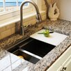 "Nantucket Sinks Pro Series 30"" x 18"" Zero-radius Undermount Prep-Station Kitchen Sink"