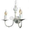 MiniSun Memphis Twist 2 Light Candle Sconce