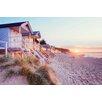 NEXT! BY REINDERS Beach Huts Wall Art
