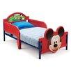 Delta Children Bett Micky Maus mit 2 Geländern, 70 cm x 140 cm
