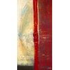 DEInternationalGraphics Lignes Rouge II by Carole Bécam Painting Print