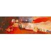 DEInternationalGraphics Industrial Landscape 2 by Margreet Holtkamp Painting Print