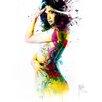 """DEInternationalGraphics Kunstdruck """"I was an Angel"""" von Patrice Murciano"""