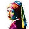 DEInternationalGraphics Vermeer Pop by Patrice Murciano Painting Print