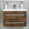 Belfry Bathroom 60 cm Wandbefestigter Waschbeckenunterschrank Abita