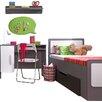 dCor design 3 Piece Bedroom Set