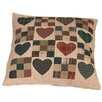 Woven Magic Country Heart Scatter Cushion