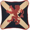 Woven Magic Crested Scottish Saltire Scatter Cushion
