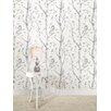 """August Grove Gabin 18' x 20.5"""" Gray Woods Wallpaper Roll"""