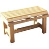 RiverCo 2 Seater Wooden Bench