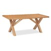 Hazelwood Home Besancon Dining Table