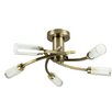 MiniSun Claudia 5 Light Semi-Flush Ceiling Light