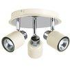 MiniSun Benton 3 Light Ceiling Spotlight