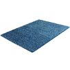 The European Warehouse Impression Blue Area Rug