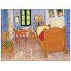 Castleton Home 'La Stanza, 1888' by Van Gogh Art Print