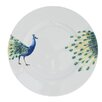 Catchii Birds of Paradise Peacock Head and Tail Dinner Plate