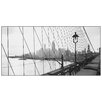 Castleton Home 'Manhattan See Through Cables of B.Bridge 1937' Photographic Print