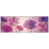 Castleton Home 'Flowers In Purple' Graphic Art