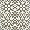 "EliteTile Alameda 17.63"" x 17.63"" Ceramic Patterned/Field Tile in Gray"