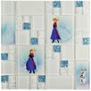EliteTile Disney Frozen Glass Mosaic Tile in Ice Blue