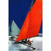 Marmont Hill Sail Art Print Wrapped on Canvas