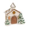 The Seasonal Aisle Winter Wonderland Church Figurine
