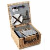 Greenfield Sandbanks Willow Picnic Hamper for Two People