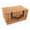 Greenfield Newbury Willow Picnic Hamper for Four People