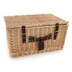 Greenfield Ludlow Willow Picnic Hamper for Four People