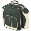 Greenfield Deluxe Picnic Backpack Hamper for Four People