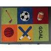Castleton Home Kids Sport Hand-Tufted Area Rug