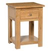 Hallowood Furniture New Waverly Side Table with Storage