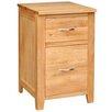Hallowood Furniture Camberley 2 Drawer Oak Cabinet
