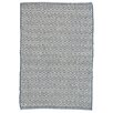 Dash & Albert Europe Crystal Hand-Woven Navy Blue/Ivory Indoor/Outdoor Area Rug