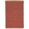 Dash & Albert Europe Arlington Handmade Red/Camel Indoor/Outdoor Area Rug