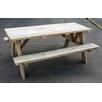 Cedar Creek Woodshop Picnic Table