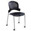 Safco Zippi Armless Stacking Chair (Set of 2)