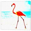 LivCorday Beach Bird Art Print Wrapped on Canvas