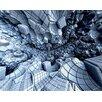 ohpopsi Digital Crater 3m x 240cm Wall Mural