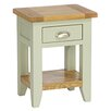 Hazelwood Home Oakham Expressions 1 Drawer Bedside Table