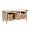 Hazelwood Home Sitzbank Oakham Expressions aus Holz mit Stauraum