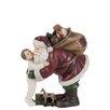 Die Saisontruhe Weihnachtsschmuck Santa Claus and Child