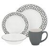 Corelle Impressions 16 Piece Dinnerware Set, Service for 4