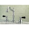 Kingston Brass Duchess Double Handle Standard Bathroom Faucet with Drain Assembly