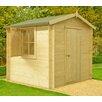 dCor design Roncade 8 x 8 Wooden Log Cabin