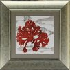 Castleton Home Fish Coral III Framed Graphic Art