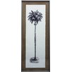 Castleton Home Vertical Palm Tree I Framed Graphic Art