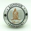 G Decor London Mushroom Knob (Set of 2)