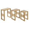 Castleton Home IOS September 3 Piece Nest of Tables