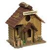 Ambiente Haus Schrebergarten 29cm x 17cm x 12cm Birdhouse